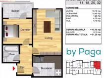 Apartament 2 camere/Bragadiru/Direct Dezvoltator
