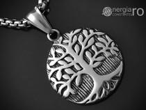 Amuleta Pandantiv Copacul Vietii INOX - cod PND058