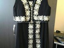 Costum dama cu paiete ( fusta si vesta )