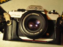 Minolta XG-M+ minolta MD 50mm 1:2  /Made in JAPAN