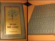 O.Kernstock-Sub copacul de linde carte germana veche.