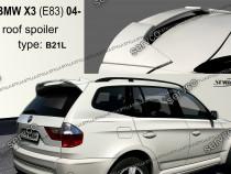 Eleron spoiler tuning BMW X3 E83 2004-2010 Mtech pack sport