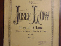 Josef Low - Album for the young (partituri, 12 piese pian)