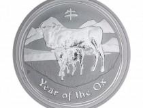 Moneda de Argint Lunar II Series Ox 2009 1oz
