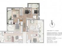 Baneasa, Sisesti, Northside Park, apartament 3 camere