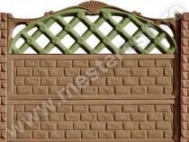 Garduri din beton Persan 1 - transport gratuit in tara