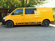 VW Transporter 2,5 mixt, aer conditionat, lung