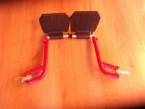 Pereche de suporti de picioare pentru fotoliu rulant noi