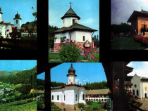 Mănăstirea Agapia, set 6 ilustrate
