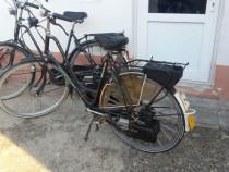 Bicicleta cu motor sachs.