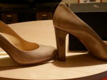 Pantofi Musette bej noi