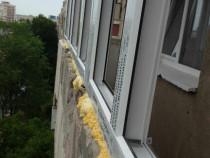 Reparații după montarea termopanului la balcoane, termopan