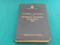 Anuarul statistic al republicii socialiste românia 1973