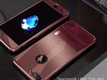 Iphone 7 Plus Husa Plastic 360 Fata Spate Folie Sticla Lucio