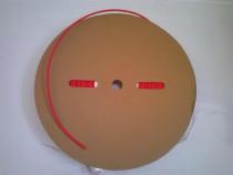 Tub varnis, tub retractabil, rola de 3,4,6,10 mm rosu/negru,