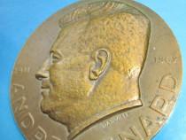 Medalia Andre Renard-Fisom Fonson Belgia bronz 1911-1962.