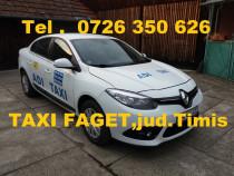 Servicii transport Taxi jud. Timis