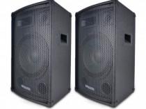 "Set boxe pasive cu 3 cai ,bass reflex Ibiza CLUB 12 MK2, 12"""