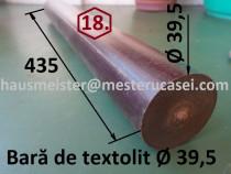 18. Bară de textolit de sectiune rotundă