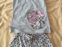 Pijamale fete, animal print, s, noi cu eticheta
