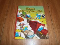 Carte copii cartonata 2 in 1-doua povesti cu Strumfi!