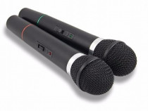 Set Karaoke cu 2 microfoane fara fir si unitate de control