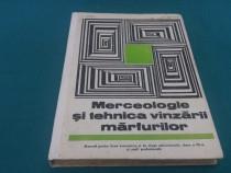 Mercelolgie și tehnica vînzării mărfurilor *manual