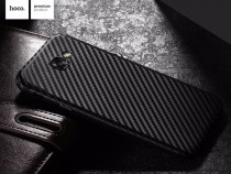 Husa slim tpu moale hoco samsung a5 2017 aspect fibra carbon