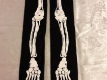 Ciorapi cu desen schelet 10-11 ani