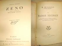Carti franceze vechi coperti simple. Lot3- 15 buc.