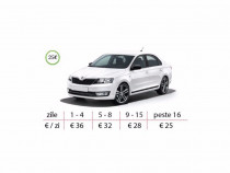Inchirieri auto Skoda Rapid preturi de la 25 €/zi