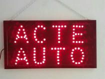 Panou led Acte Auto