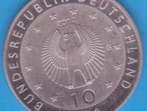 Moneda aniversara germania 10 euro an 2012