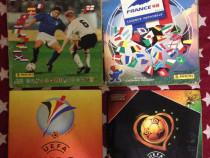 Albume fotbal Euro 96, World Cup 98, Euro 2000, Euro 2004