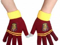 Manusi de iarna harry potter hogwarts gryffindor haine