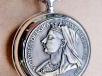 7649-Victoria Regina Angliei Ceas barbatesc quartz function.