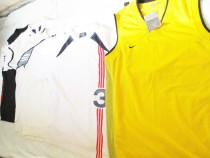 Tricou Nike portocaliu cu alb, lungime 70cm latime 50cm Pr