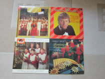 Vinil muzica de Craciun -4 titluri de colectie