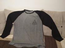 Bluza barbateasca marca Fabric, gri cu maneci negre,XL, nou