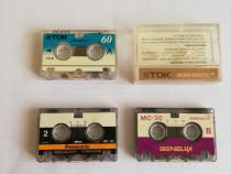 Microcassette TDK reportofon 3 Buc MC-30 MC-60
