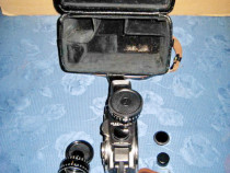 7834-Aparat Filmat URSS Quartz DS 8-M cutie piele groasa.