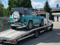 Tractari auto Platforma auto Asistenta