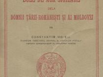 Cartea Bule de aur sigilare dela domnii Ţării Româneşti 1925