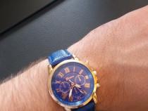 Ceas Geneva Blue Nou sch Rolex,Festina,Casio,Fossil,Guess