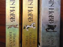 Fool's Errand, The Golden Fool, Fool's Fate - Robin Hobb