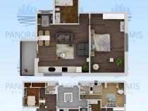Apartament 2 camere, 68mp - bloc nou - compozitori