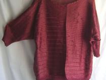 Bluză vintage tricotată mecanic