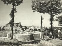 Carte postala Suceava 1965, vedere de la cetate