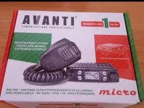 Statie Radio CB Avanti Micro - Noua, Putere 4-8 Watt, cu Gar