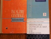 3 carti despre incalziri centrale si modernizari cazane